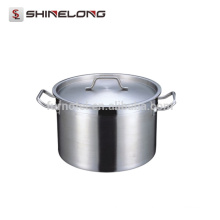 S207 Stainless Steel Composite Bottom Stew Pot com tampa