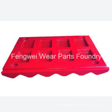 High Manganese Steel Jaw Crusher Jaws