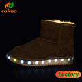 Customized Light Up Shoes Snow Boots