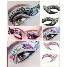 High quality Customized temporary face tattoo Sticker with low price 2017