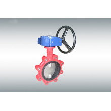 Carbon Steel Midline Butterfly Valve with Gearbox