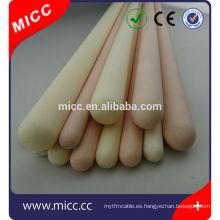 material de alúmina de cerámica de alúmina y tipo tubo de aislamiento de aislamiento aislante de la manga