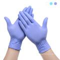 одноразовые виниловые смотровые перчатки