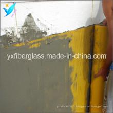 2.5mm * 2.5mm 75G / M2 Tissu de fibre de verre de renfort de cloisons sèches