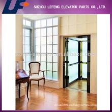 Home Ascensor de cristal, pequeño ascensor residencial, Ascensor para Villa