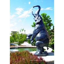 Hochwertige Aluminium Elefant Figur