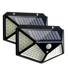 Luz solar inalámbrica al aire libre impermeable del jardín solar