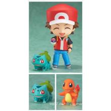 Kundenspezifische Pokemon PVC Mini Action Figur Puppe Kinder Herstellung Spielzeug