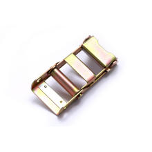 2Inch Yellow Zinc Plated Over Buckle for 45mm Straps