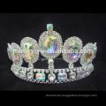 Großhandelsneue Art- und Weisegroße Rhinestone-Art und Weise-Festzug-Kronen