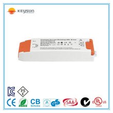 led strip light transformer constant current 350ma 700ma dimmable led driver 30w with CE SAA Certifiacated