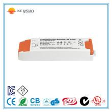 Led strip transformador de luz constante constante 350ma 700ma driver regulável 30w com CE SAA Certifiacated