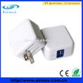 Портативное 5v 2.1A usb быстрое мобильное зарядное устройство со складной штепсельной вилкой США