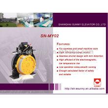 Zugmaschine für Aufzug Aufzug gearless Motor SN-MY02