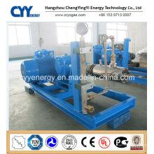 Cyyp 66 Uninterrupted Service Large Flow and High Pressure LNG Liquid Oxygen Nitrogen Argon Multiseriate Piston Pump