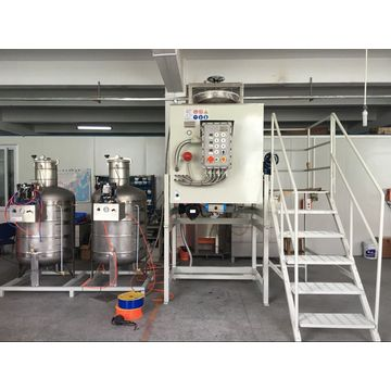 Solvent Recovery Machine and Cleaning