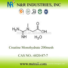 wholesale creatine monohydrate powder 99.5% 80mesh and 200mesh 6020-87-7