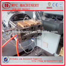 WPC Extruder Wood Plastic Composite Making Machine