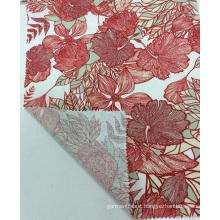 Linen/ Viscose Quality Printedf Garment Fabric, Home Textile Fabric