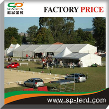 12x20m industrial tent for outdoor warehousing usage in solid white
