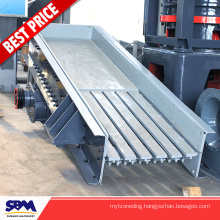ZSW series vibrating grizzly feeder for sale price which can send materials to crusher continuously