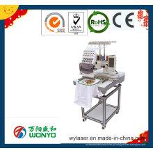 Máquina de bordar comercial / Single Head Cap / Hat / Logo / T-Shirt Máquina de bordar computadorizada Wy1201CS / Wy1501CS