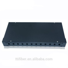 12 port SC rack mount optic distribution frame box