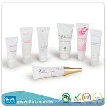 Freie Probe Augencreme Kosmetik Schlauch Rohr Siebdruck glänzend Handling