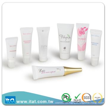 Amostra grátis recipiente de lábio vazio creme de loção corporal tubo de mangueira cosmética