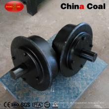 Tipo sólido personalizado roda de aço fundido