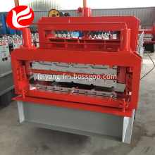 double layer galvanized metal roofing sheet making machine