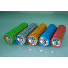 Patented new design glow in the dark AD gift mini led light torch