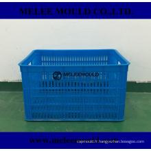 Caisse de fruits de stockage en plastique Melee