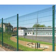 ПВХ покрытием 3D Сварной забор для сада