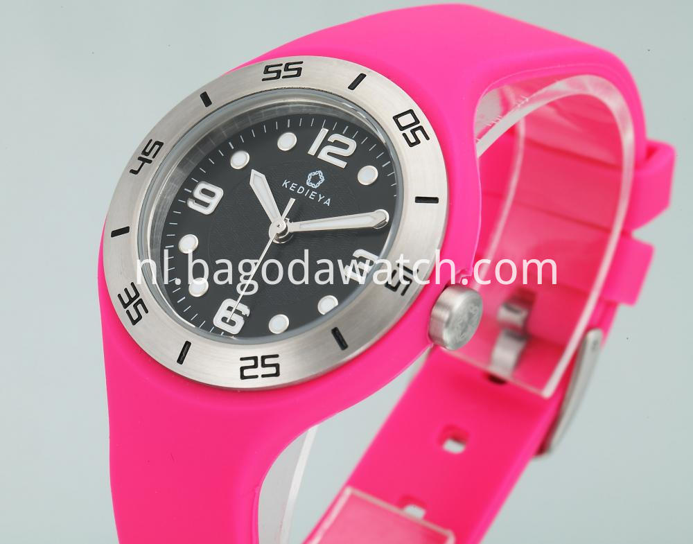 Rubber Watch Womens