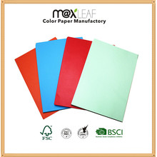 A4 Light Colour Paper for Office Printing and Copy