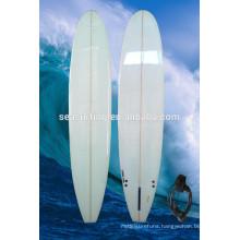 2014 High quality PU fibergalss longboard surfboard