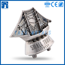 Decoração personalizada artesanato de metal trinkets veleiro