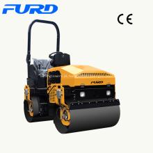 Compactador de rolos de estrada de combinação de 3 toneladas