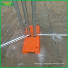 Panneaux de clôture de construction temporaire