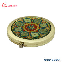 Gold Round Beauty Makeup Mirror