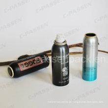 Lata de alumínio do metal do aerossol para o pulverizador hidratando da pele (PPC-AAC-026)