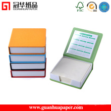 Promotional Custom Die Cut Hardcover Sticky Note Pad