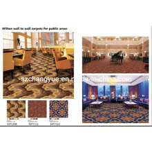 Broadloom Machine Woven Wilton Wool Hotel Carpets