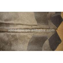 Dupla dobra Micro camurça tecido para sofá