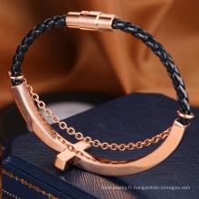 2018 Vente chaude bijoux bracelet mode personnalisé femmes bijoux rose bracelet en or