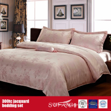 300TC Jacquard Atacado Bedding Set Hotel Best Bedding Set