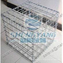 caixa de gaiola de pedra gabião