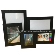 8X10 Black Textured Art Paper Рекламная подарочная рамка для фотографий