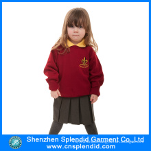 Shenzhen Wholesale Girls Red Kindergarten Uniform for School